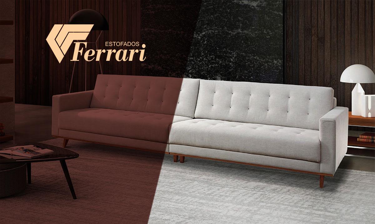 Estofados ferrari prazer em viver cada momento - Modelos de sofas clasicos ...